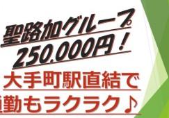 250.000円~♪【千代田区】弊社出身者のみで運営!途中入社でも安心です♪ イメージ