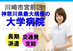 \人気求人です/川崎市のパート求人*時給1,200円+交通費*ほぼ土日祝休み!お早めにお問合せ下さい イメージ