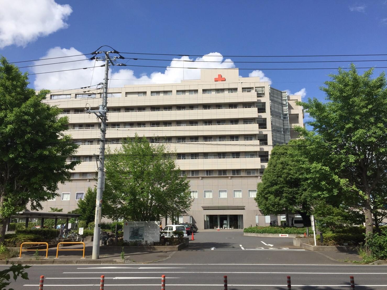 成田日赤・外観3