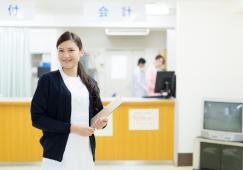 病院で活躍する医療事務をクローズアップ! イメージ